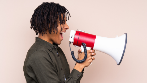 IHAs: is it the job of the agencies to tell us what to do? guy with a megaphone