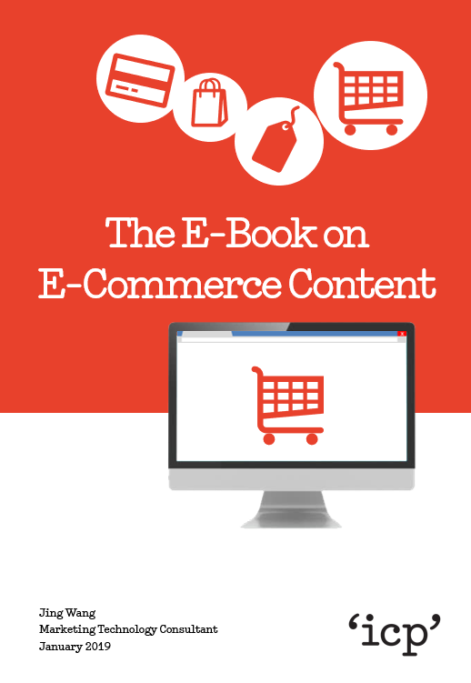 The E-Book on E-Commerce Content